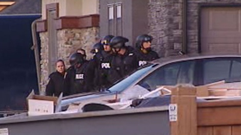 A heavy police presence attended a residence in Waverley West Friday morning. Officers told residents to stay in their homes.