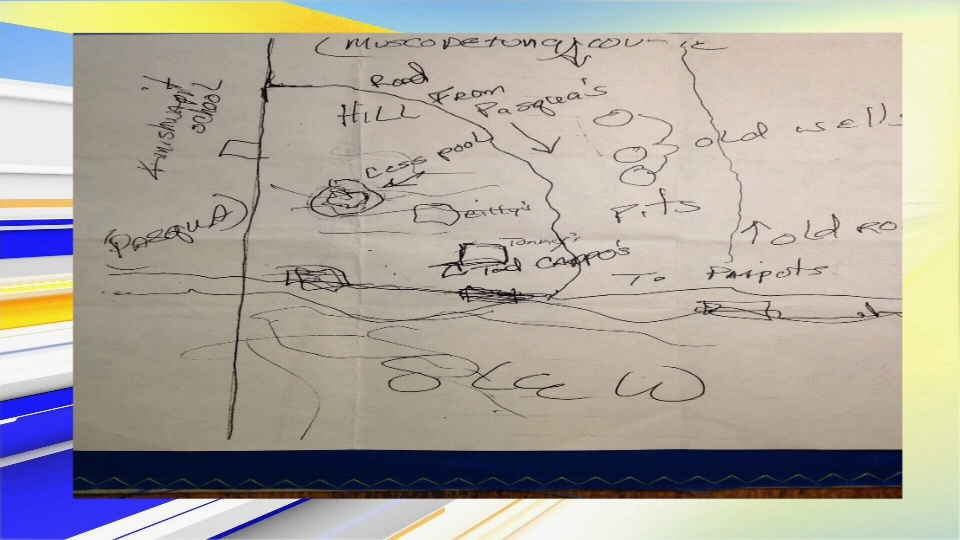 Tamra Keepness: Hand-drawn map posted to Reddit creates new lead in ...
