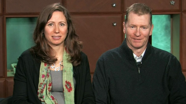 Trevor and Debbie Greene appear on Canada AM, Friday, March 16, 2012.