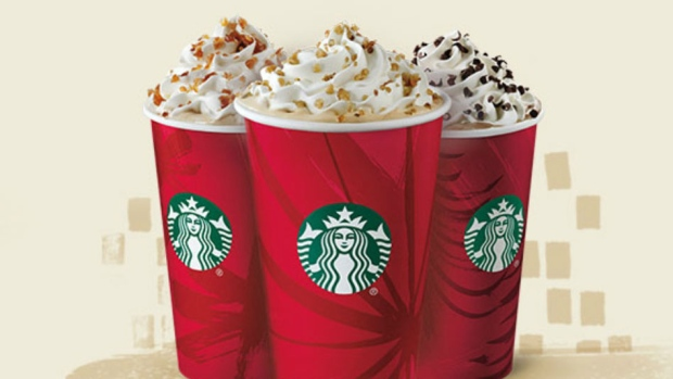 Starbucks' holiday drinks are back