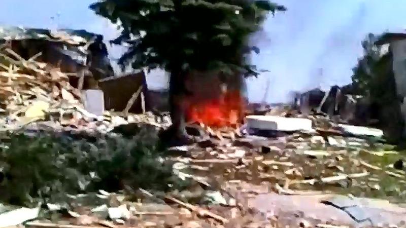 Lago Lindo explosion, June 20, 2010