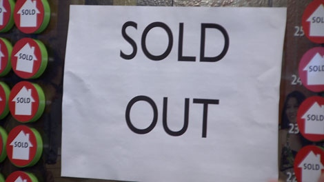 All 415 units at the Marine Gateway project were sold out within hours on Saturday. Mar. 17, 2012. (CTV)