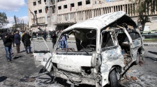 Syria, bombings, target government, civilians killed