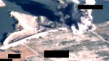 CF-18 airstrike near Fallujah, Iraq