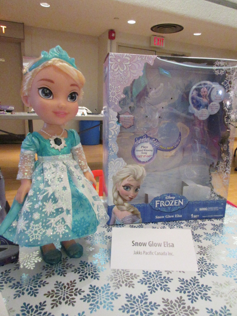 A doll based on one of the characters from the widely-popular Disney movie 'Frozen, Snow Glow Elsa is expected to be a big seller. (Angela Mulholland / CTVNews.ca)