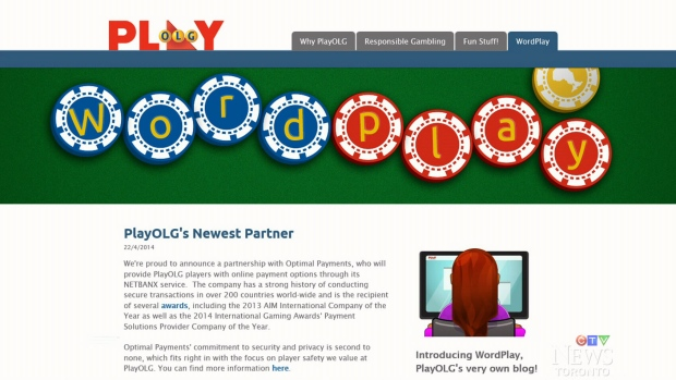 Ontario Lottery Online Gaming