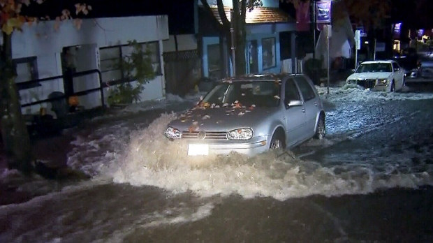 North Vancouver Braces For More Rain In Flash Floods Wake