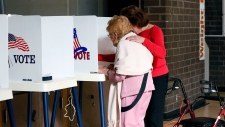 Voting takes place in the U.S. midterm elections
