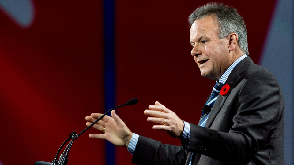 Bank of Canada Governor Stephen Poloz speaks in Toronto on Nov. 3, 2014. (THE CANADIAN PRESS / Nathan Denette)