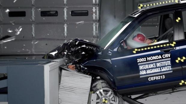 Takata losses deepen as faulty air bag recalls pile up for Honda crv crash test