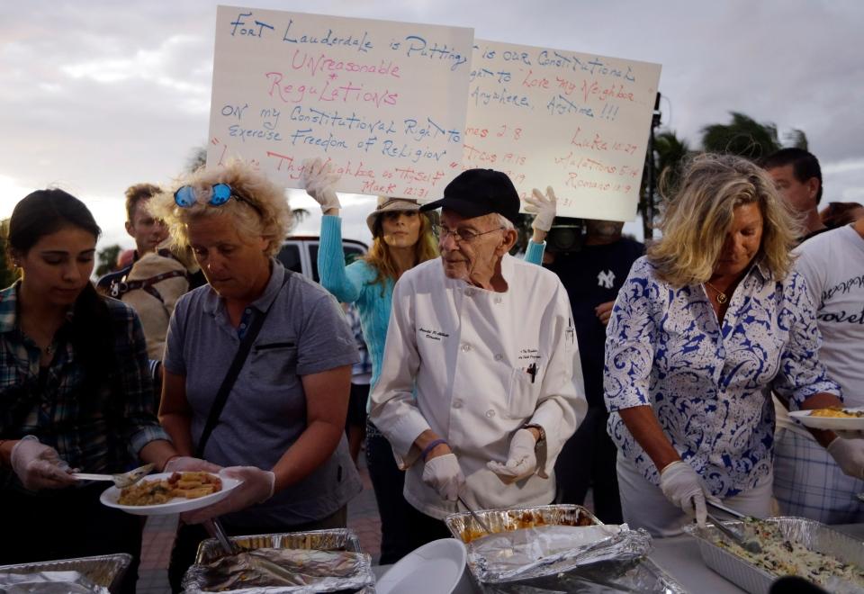 Homeless advocate 90 won 39 t stop work despite arrest for Abbott california cuisine