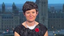 NDP Deputy Leader Megan Leslie