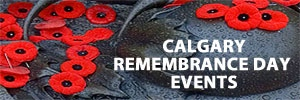 Calgary remembrance day events