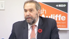 NDP Leader Tom Mulcair on MP misconduct