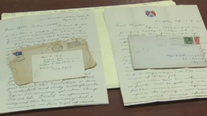 Soldier's letters posted online
