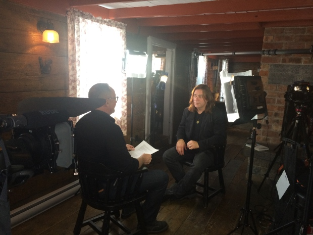 Kevin Newman tours Alan Doyle's hometown Petty Harbour