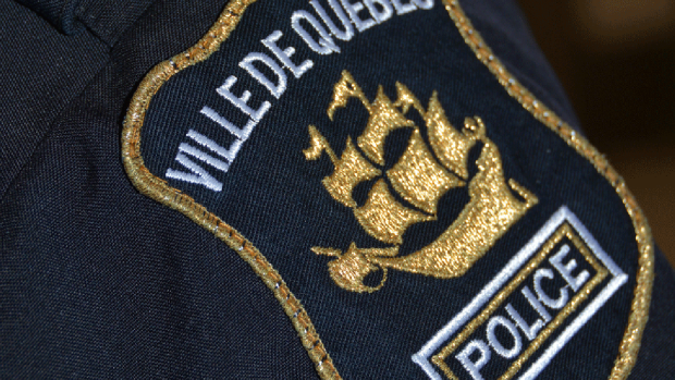 Quebec City Police Service insignia