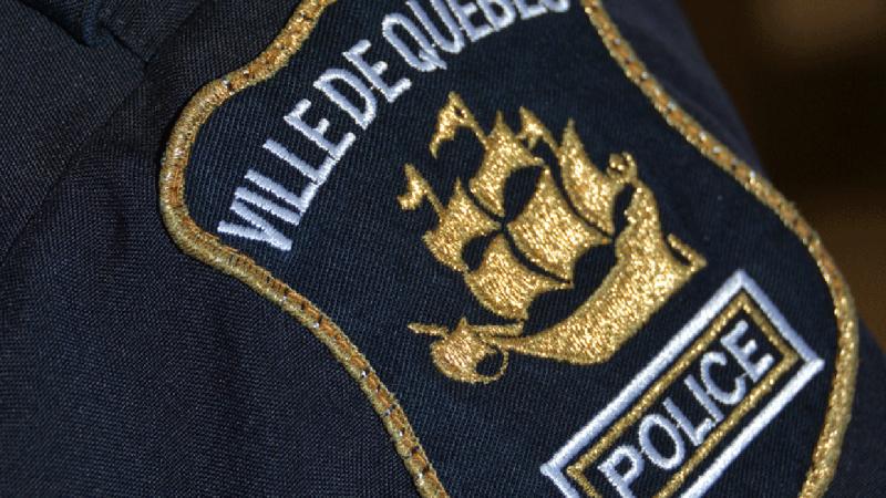 Quebec City Police Service insignia spvq