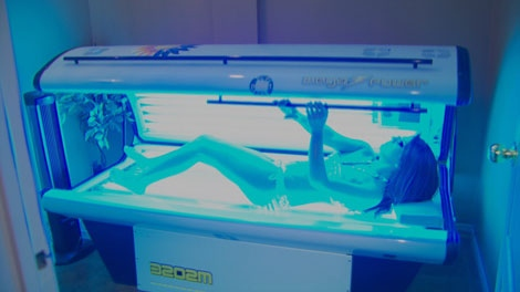 The B.C. government is banning tanning bed sessions for anyone under the age of 18. March 20, 2012. (CTV)