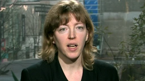 Rima Wilkes of UBC appears on CTV News Channel from CTV studios in Vancouver, Tuesday, March 20, 2012.