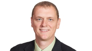 NDP candidate in the Chateauguay-Lacolle riding Sylvain Chicoine. His brother is running in a neighbouring riding.