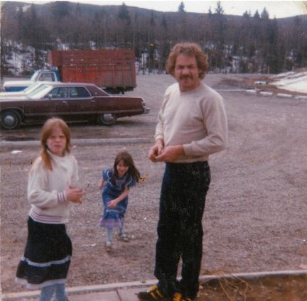 Ivan Henry with daughters