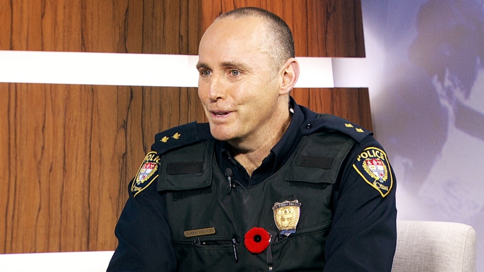 Ottawa Police Inspector Murray Knowles appears on CTV's Question Period with Laurie Graham on Sunday, Nov. 9, 2014.