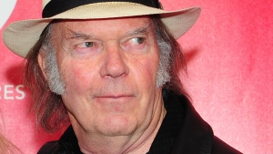 Neil Young is pictured in this undated photo. (AFP PHOTO / Frederic J. BROWN)