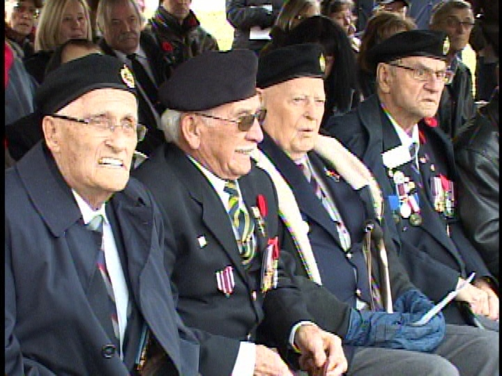 Veterans receive French Legion of Honour at ceremony on Sunday, November 9, 2014 in London, Ont.