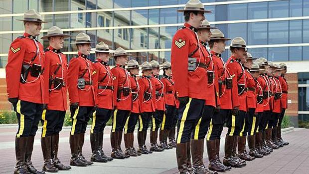 Ctv Edmonton Rcmp Uniform Armed Weapons Remembrance