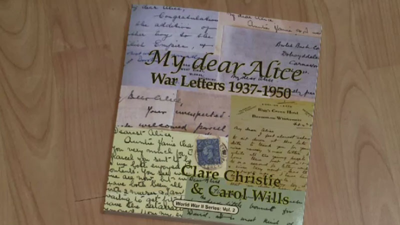 A private collection of wartime mail has been turned into a new book that shows a different side to war.