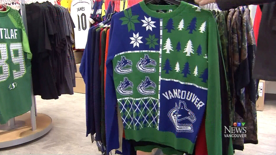 Ugly sweaters  a thing of beauty for NHL merchandise sales ... 17d2a4a08