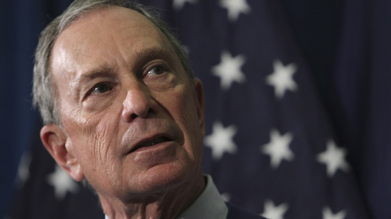 New York City Mayor Michael Bloomberg appears in this file photo.