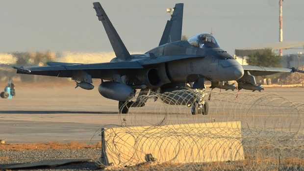 ISIS airstrikes in Iraq - Canada