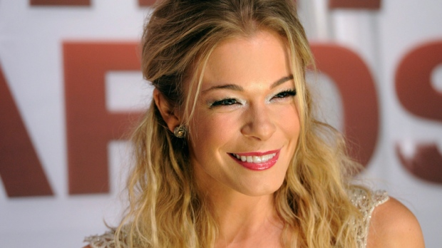 LeAnn Rimes arrives at the 45th Annual CMA Awards in Nashville, Tenn. on Wednesday, Nov. 9, 2011. (AP / Evan Agostini)