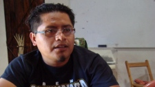 Bernardo Vasquez, a Mexican anti-mining activist, was shot dead in his car on March 15, 2012.