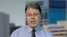 Deryck Webb, a technologist with the University of Alberta, speaks to CTV News Channel, Friday, March 23, 2012.