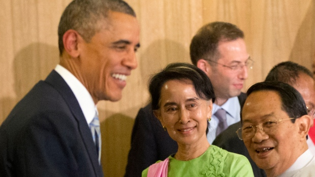obama meet aung san suu kyi 2014 gmc