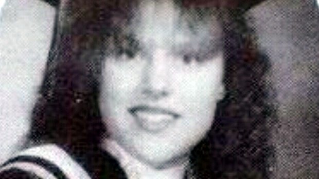 Andrea Giesbrecht, the woman charged with concealing the bodies of six dead infants found in a storage locker, is seen in this undated photo.