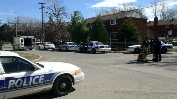 Three injured in east Ottawa shooting, police on scene.