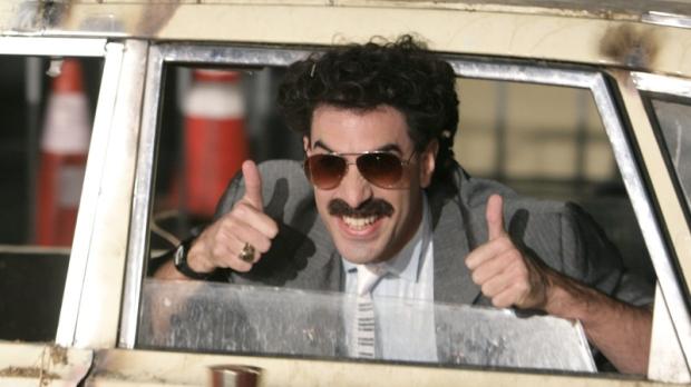 f75953c088 6 Czechs  fined  for sporting Borat mankinis in Kazakhstan ...