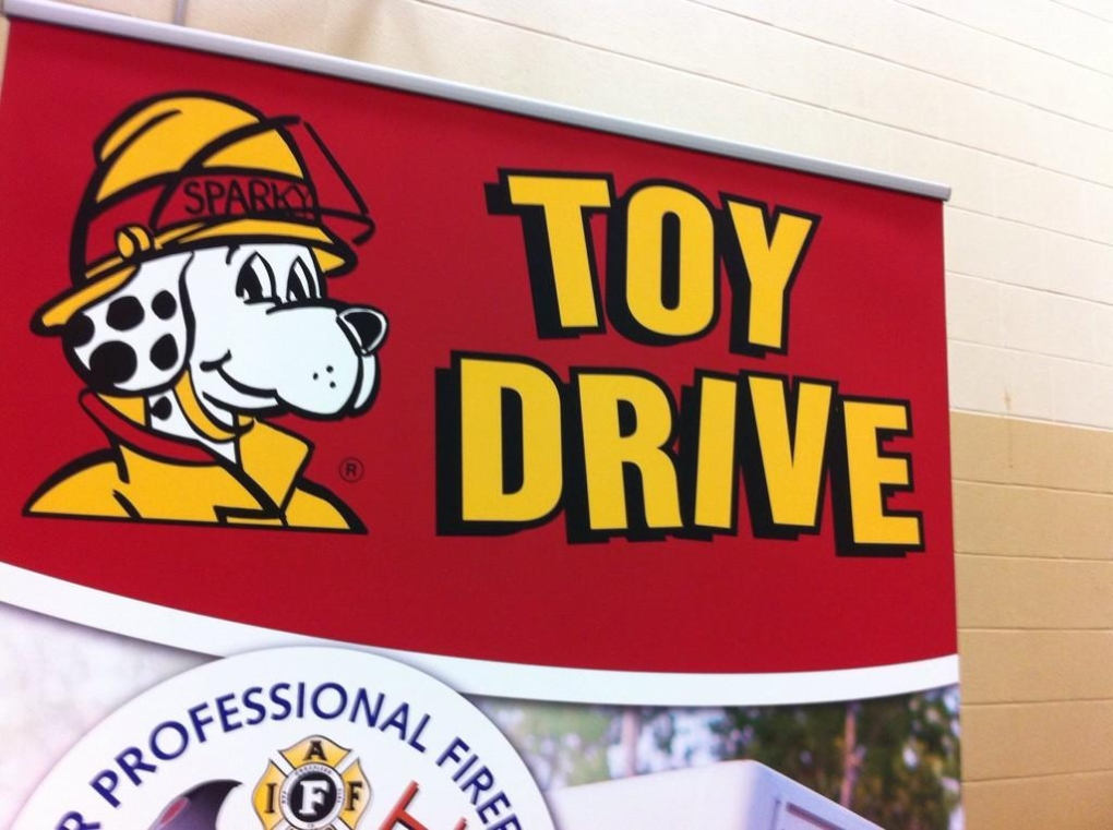 Sparky's Toy Drive