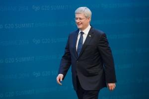 Harper at G20 summit in Australia