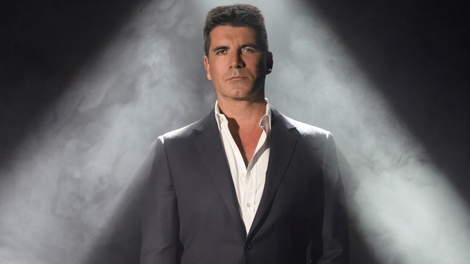 Simon Cowell, host of 'The X-Factor'