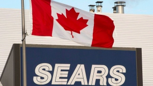 Sears Canada sells more real estate including two distribution centres due to downsizing (Ryan Remiorz / THE CANADIAN PRESS)