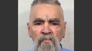 This Oct. 8, 2014 photo provided by the California Department of Corrections shows 80-year-old serial killer Charles Manson. (AP Photos/California Department of Corrections)