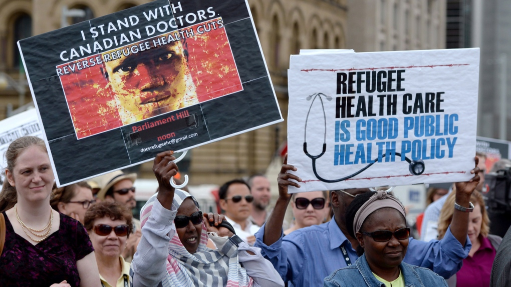 Cuts to refugee benefits