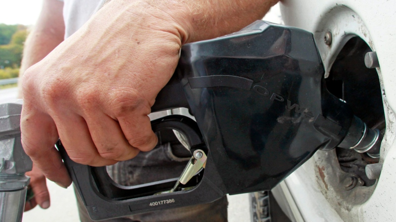 Pumping gas on Sept. 27, 2013 in Montpelier, Vt. (AP / Toby Talbot)