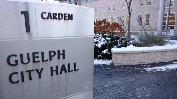 Guelph City Hall is pictured on Tuesday, Nov. 18, 2014.