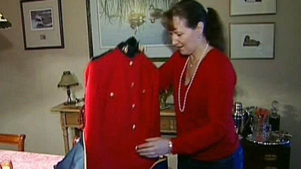 Former RCMP officer Krista Carle alleges she was sexually harassed by male officers.